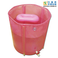 Wholesale Adult water folding tub inflatable bathtub bath bucket barrel bathtub bath bucket