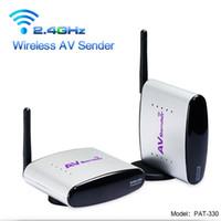Wholesale PAT G Wireless AV Sender Digital Wireless AV Transmitter Receiver