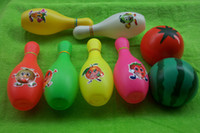 other bowling ball - Ball toys child bowling ball toy set