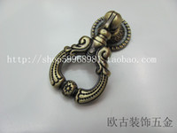 other   Enco furniture handle antique handle European Handle Chinese Handle 8010 Green ancient hole handle