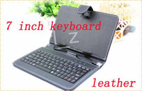 Keyboard Case 7'' MID Universal Colorful 7 Inch PU Leather Case With USB Keyboard Stand For 7 Inch android Tablet PC MID Q88 A13
