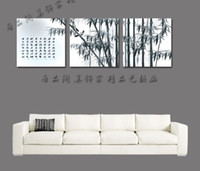 Abstract   Canvas painting picture frame decorative painting , drawing board mural bamboo ink