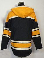 blank hockey jersey - Bruin Team Hockey Hoody Performance Pullover Hoody Blank Hockey Jerseys New Hood wstrwith Draings Soft Fleece Lining Jerseys