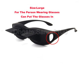 Wholesale 30piece Lazy Glasses Reading Lying Flat High Definition Horizontal Novelty Lie Down On Your Bed Periscope Creative Matt Black Great Quality