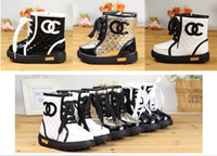 Wholesale 10 off Chic children shoes girls boots baby shoes high boots han edition kids leisure boots pairs JZ