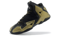 Wholesale lebron XI basketball shoes hot sale fast shipping newest design high quality with logo mens athletic shoes lebron