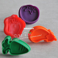 Wholesale 3D stereo biscuits mold Vegetable New Specials Baking Tools Cutters