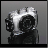 Wholesale 2 P HD waterproof action video camera camcorder with helmet amp bike mounting Car Recorder