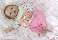 13-24 Months Unisex White baby born reborn baby doll reborn dolls for sale baby reborn, hand made, real baby skin pose, vivid eyes, 1.5kgs, 50cm