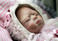 3-4 Years Unisex White baby born doll baby reborn reborn doll reborn babies for sale reborn baby doll, hand made, real baby skin pose, 52cm in length