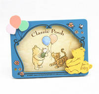 Photo Frame   Cute Bear Style Wood Photo Frames Fashion Cartoon Children's Picture Frame Unique Gifts for Kids
