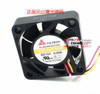 Wholesale Y S TECH FD124010HB V A CM winds dual ball bearing cooling fan