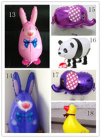 Multicolor balloon animals supplies - Party supplies Walking animal balloons walking pet balloons Party toys children toys