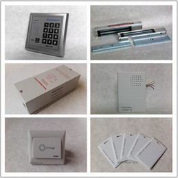 Wholesale Access Control System Anbaod password access card to open the door A280 double doors open magnetic lock kit
