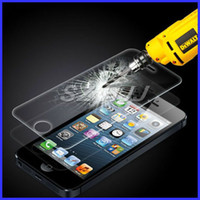 Screen Protector 0. 33mm Tempered Glass For iPhone 5 5S 5C An...