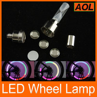 LED bicycle tire factory - Factory price Colorful LED Decorative Light Bicycles car Tire Spoke Wheel Valve LED Flash Lamp