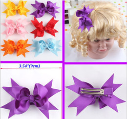 New Korean Baby bow Hair clip Chlidren's hair Accessoriess headdress Fashion Girl's Hair Barrettes Girl Hair Accessories