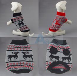 Wholesale Dog Pet Sweater Coat Clothes Multi color Aran Knit Soft Cozy D6