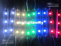 200pcs backlight LED sign modules Led Module Christmas lamp light 5050 3 LEDs Billboard Led Modules Waterproof IP65 DC12V