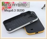 For Samsung TPU+pc For Christmas NEO HYBRID SGP Case For Samsung Galaxy Mega Mega6.3 I9200 Slim PC + TPU Case DHL free