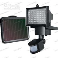 Wholesale LLFA317 Solar Security Light with Bright LED bulbs and PIR sensor included