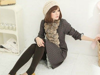 Wholesale Details about New Women Rabbit FUR COLLAR NECK WRAP SCARF GIRL Scarf Shawl