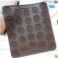 Wholesale 27 holes silicone mat cake mold chocolate mould