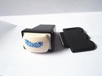 achat en gros de xl estampage plaque d'image-Nouvelle arrivée XL Squishy Stamper BIG Silica Stamp Stamper 1Pcs Métal Raclette pour XL Stamping Nail Plate Image n ° 167