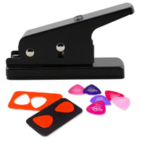 Wholesale S5Q Professional Guitar Plectrum Punch Picks Maker Card Cutter DIY Own Pick AAACVI