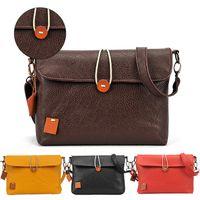 Shoulder Bags handbag leather - S5Q Womens Casual Handbags Zipper Messenger Bags Faux Leather Shoulder Bags AAACVP