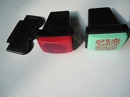 Wholesale 20 Sets XL stamper Metal Nail Scraper For Big Design Image Plate Opp Packing