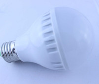 Wholesale 1pcs W E27 High Power Frosted Golf Ball voice control LED Light Bulb Warm White Spot