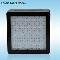 Wholesale 2014 Newest LED Grow Lights W w Chips Band Full Spectrum Indoor Led Grow Light pcsX5w Mars II Yrs Warranty Stock In USA AU UK