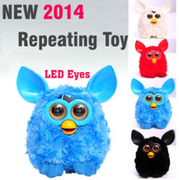 Wholesale NEWest Electric Phoebe Elves Figurines Recording Plush Electronic Pet Toys Talking Mini Toy Best Gift furbie toy furby toys
