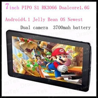 """4.8 inch Dual Core Android 4.0 discount shipping 7"""" PiPo S1 RK3066 Dual Core Tablet PC Android 4.1 Jelly Bean OS Cortex A9 1.6GHZ tablet pc"""