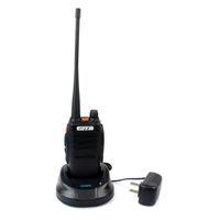 Wholesale New Black Walkie Talkie FDC FD UHF400 CH W x Antenna LED Flashlight Rain Proof Two Way Radio A1084A