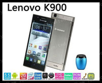 """5.5 Android 2G Freeshipping lenovo K900 Intel Atom Z2580 2048MHz dual Core Android 4.2 3G smart phone 5.5"""" IPS 1920*1080 2GB Ram 16GB Rom 13MP"""