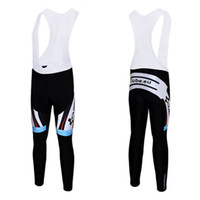 Wholesale 2016 New Arrival CUBE Padded Bib Cycling Pants Brand Team Bike Riding Outfit Black Professional Pro Cycling Shorts Kit Size S to XXXL