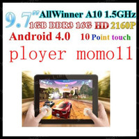 Wholesale ployer Momo11 Points Touch A10 Ghz Android Camera GB quot IPS Capacitive Tablet PC