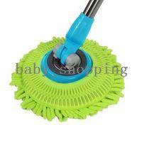Polyester Aluminum  (Minimum order $5,can mix) 360 Degree Microfiber Spin Mop Head CMZ006