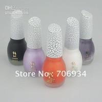 Cheap Wholesale - 12pcs lot 40 colors options Shatter Nail Polish Crack Crackle Nail Lacquer Nail Art Polish