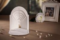 Wholesale Top grade Perfect design CW3079 white Invitation card Wedding Invitations come envelopes sealed