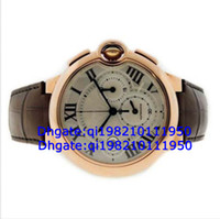 Wholesale Factory direct sales of high quality low price Men Bleu W6920009 k Rose Gold Automatic Chronograph Watch