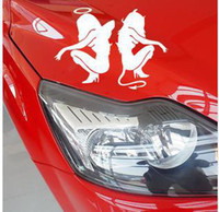 Personalized Sticker beauty materials - N reflective beauty temptation of angels and demons personalized car stickers