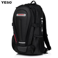 Wholesale Yeso backpack travel bag hard shell male ride motorcycle armor laptop bag