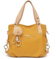 Wholesale Fashion Real Leather Handbags Ladies Tote Messenger Shoulder Bag for Women