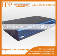 Wholesale AzAmerica S900 support IKS for Nagra3 HD Channels AzAmerica S900HD Satellite Receptor