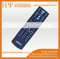Wholesale new year gifts azbox premium plus hd az box premium plus hd twin tunner decoder new in stock