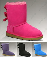 Wholesale Christmas Promotion Womens LTODDLERS BAILEY BOW SNOW Boots Womens Winter Boots