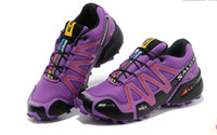 Wholesale Hot Sale New Women Running Shoes Solomon women Sports Hiking Outdoor Training Athletic Shoes Size36